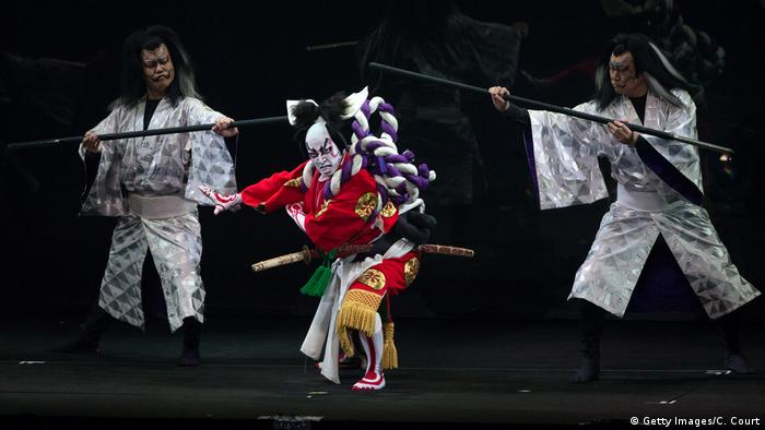 Kabuki traditionelles japanisches Theater (Getty Images/C. Court)
