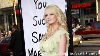 Stormy Daniels (picture-alliance/dpa/epa/N. Prommer)