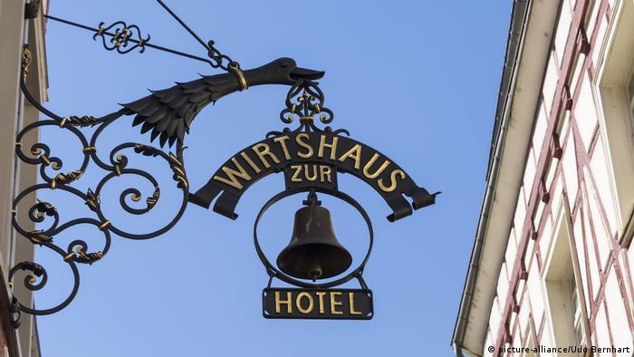 Tradicionalni cimer njemačke gostionice i prenoćišta