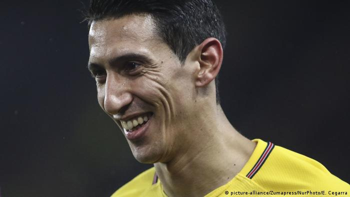 Angel Di Maria (picture-alliance/Zumapress/NurPhoto/E. Cegarra)