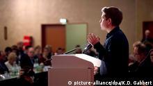 Kühnert diz estar disposto a enfrentar todos os riscos para evitar grande coalizão