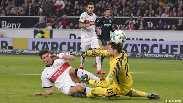 Fußball Bundesliga VfB Stuttgart - Hertha BSC (imago/MIS)