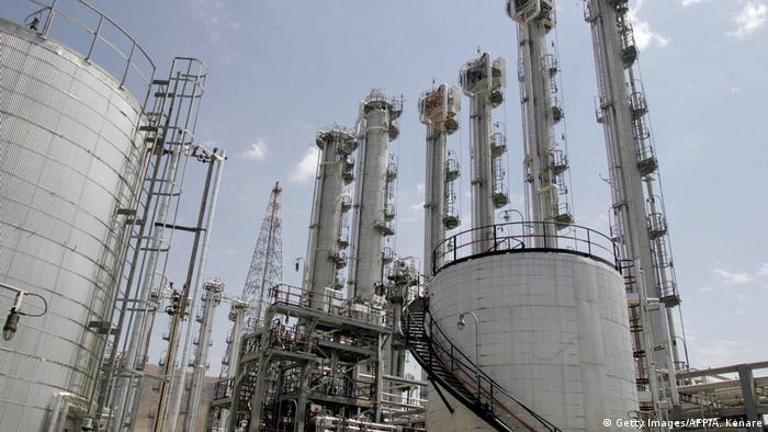 Iran Schwerwasserreaktor in Arak (Getty Images/AFP/A. Kenare)