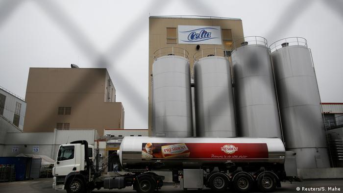 Fábrica Celia em Craon, França, está fechada por suspeita de ser foco da bactéria