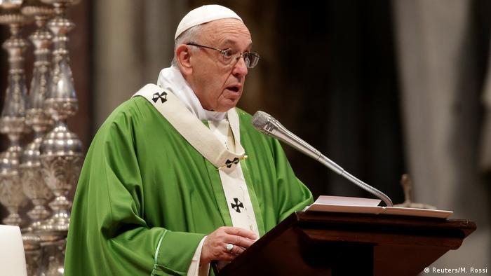 Papst Franziskus Ansprache Predigt (Reuters/M. Rossi)