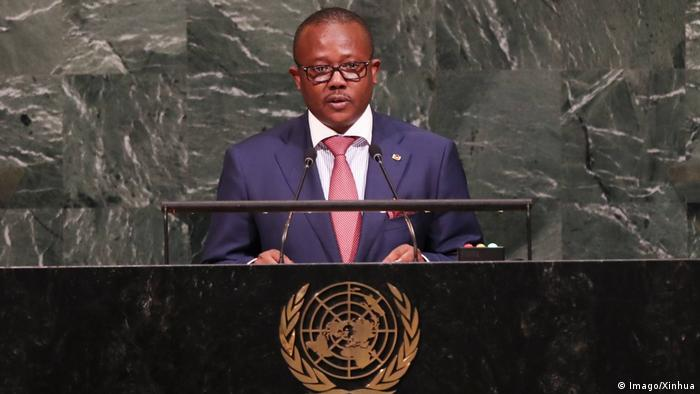 UN-Generalversammlung   Umaro Sissoco Embalo, Premierminister Guinea-Bissau