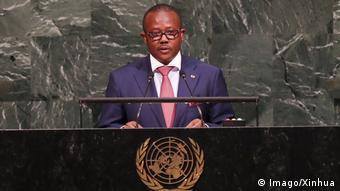 UN-Generalversammlung | Umaro Sissoco Embalo, Premierminister Guinea-Bissau (Imago/Xinhua)