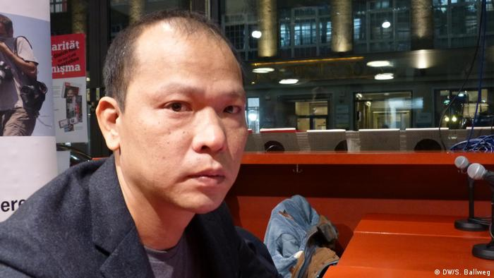 Vietnamese blogger Bui Thanh Hieu (DW/S. Ballweg)