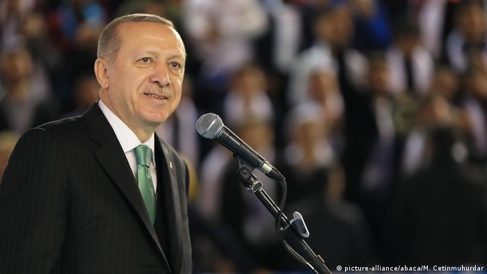 Türkei AKP Parteikongress in Tokat Präsident Erdogan