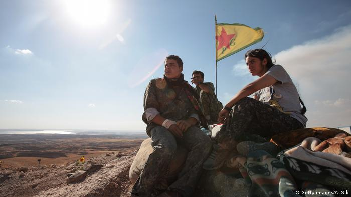 YPG fighters in Syria (Getty images/A. Sik)
