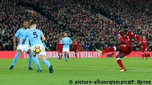 Fußball Premier League Liverpool - Manchester City