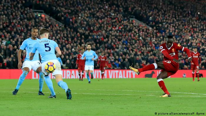 Fußball Premier League Liverpool - Manchester City