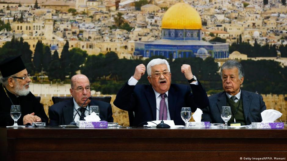 Mahmoud Abbas dismisses Donald Trump's peace efforts as 'slap of the century' to Palestinians