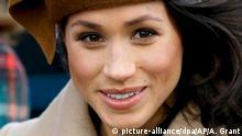 Meghan Markle US-Schauspielerin und Verlobte von Prinz Harry