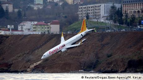 Як турецький літак ледь не впав у Чорне море (фотогалерея)