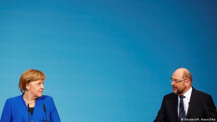 El bloque conservador que lidera la canciller alemana Angela Merkel cercenó las esperanzas que mantenía el Partido Socialdemócrata (SPD) de incorporar modificaciones al reciente preacuerdo de Gobierno alcanzado entre las dos formaciones, informó la prensa alemana. (15.01.2018).