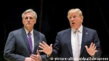 USA Donald Trump und Kevin McCarthy (picture-alliance/dpa/Zumapress)
