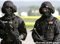 Бійці елітного антитерористичного спецпідрозділу GSG-9 на своїй базі під Бонном