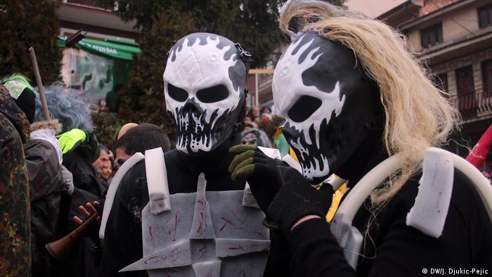 Serbien Karneval in Vevcani (DW/J. Djukic-Pejic)