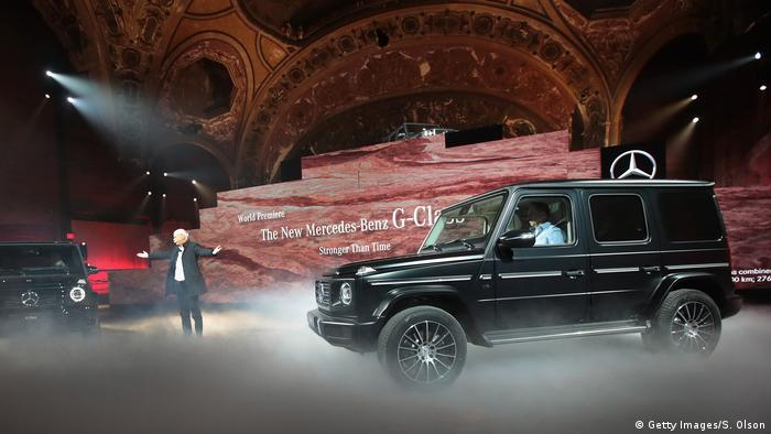 Detroit International Auto Show Mercedes-Benz G-Class (Getty Images/S. Olson)