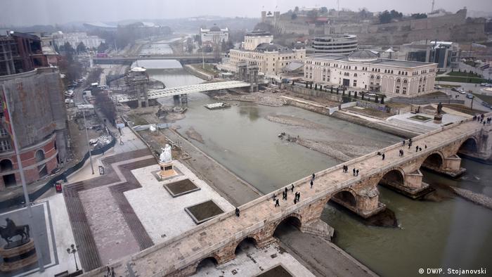 Mazedonien Zentrum von Skopje