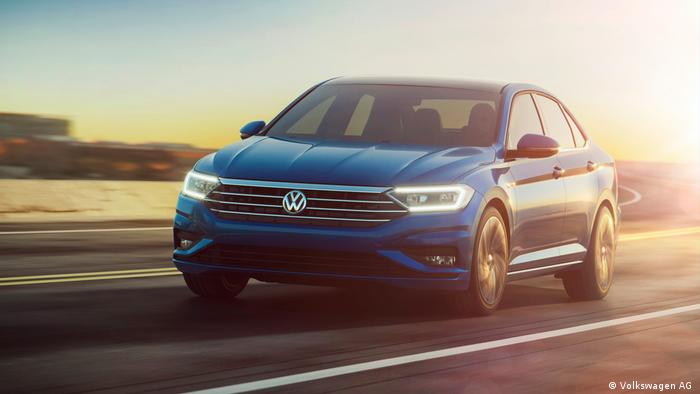 The new Volkswagen Jetta