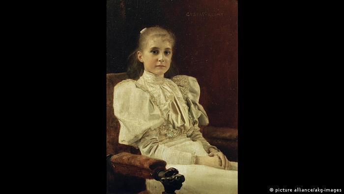 Gustav Klimt - Seated Young Girl (picture alliance/akg-images)