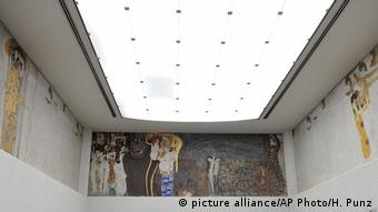 Gustav Klimts Beethovenfries in der Wiener Secession (picture alliance/AP Photo/H. Punz)