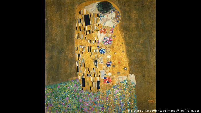 Gustav Klimt - The Kiss (picture-alliance/Heritage Images/Fine Art Images)