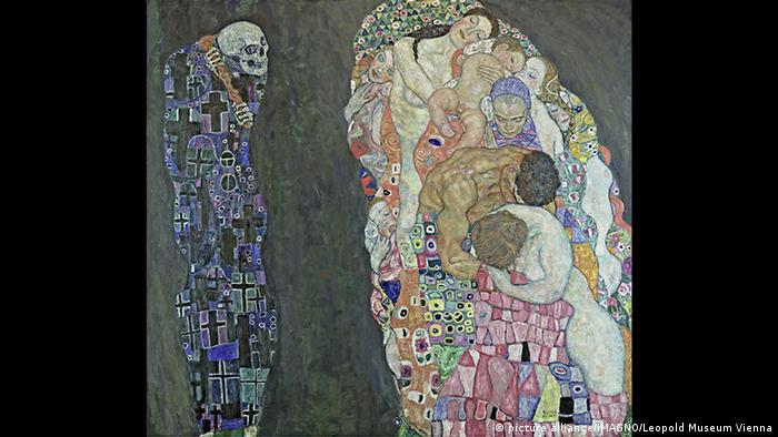 Gustav Klimt - Death and Life (picture alliance/IMAGNO/Leopold Museum Vienna)