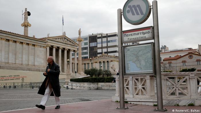 Griechenland Streik in Athen