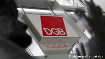 Symbolbild Logo DGB