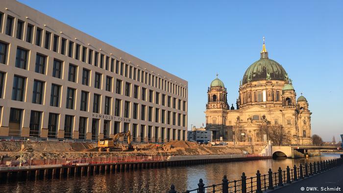 Berlin Impressionen Baustelle Humboldt Forum Ostflügel