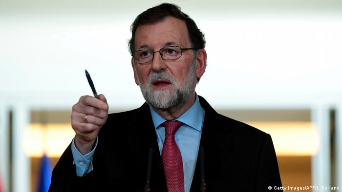 Spanien Premierminister Mariano Rajoy (Getty Images/AFP/J. Soriano)