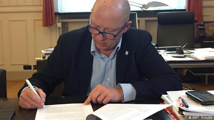 Vilvoorde Mayor Hans Bonte