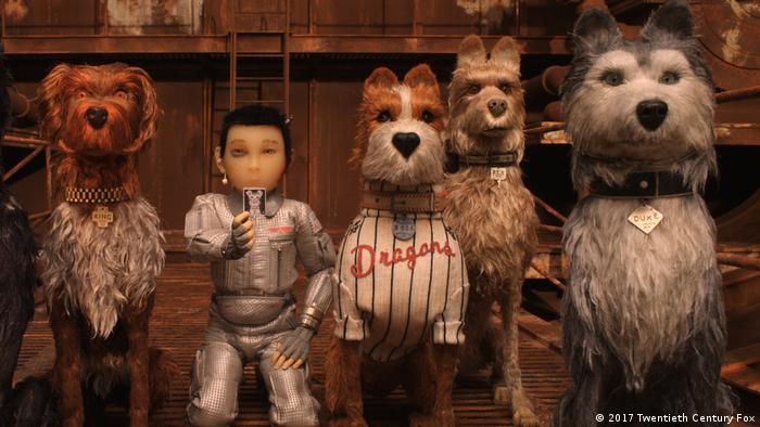 Film still from Isle of Dogs