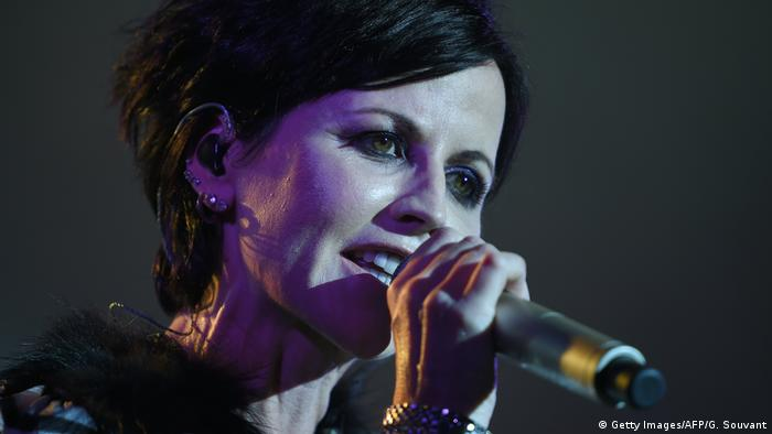 Sängerin Dolores O'Riordan von The Cranberries (Getty Images/AFP/G. Souvant)