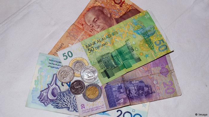 Marokko Währung Geldscheine