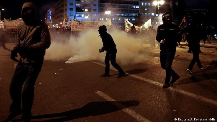 Griechenland Proteste & Ausschreitungen in Athen (Reuters/A. Konstantinidis)