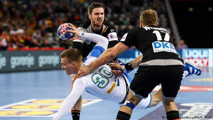 Handball-EM Slowenien - Deutschland (Getty Images/Bongarts/M. Rose)