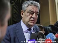 Міхай Тудосе після засідання керівництва румунської Соціал-демократичної партії 15 січня