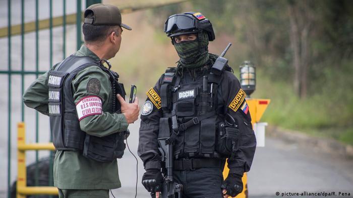 Venezuela Militär greift Aufständische an in Araguaney