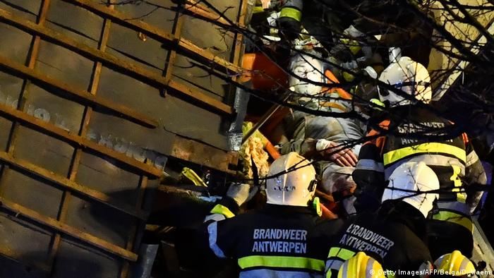Belgien Explosion in Antwerpen (Getty Images/AFP/Belga/D. Waem)