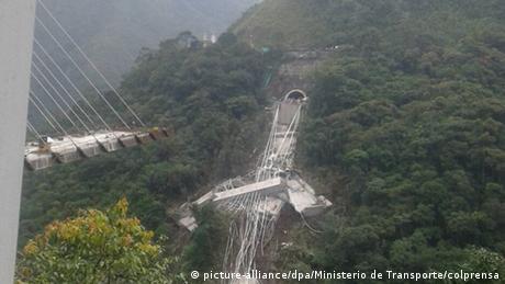 У Колумбії обвалився недобудований міст: щонайменше 10 загиблих