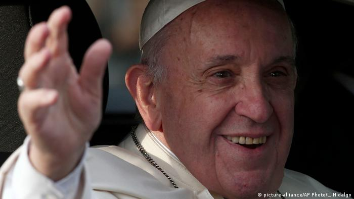Chile Papst Franziskus zu Besuch (picture-alliance/AP Photo/L. Hidalgo)