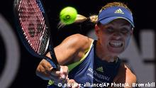Auastralian Open in Melbourne - Angelique Kerber (picture-alliance/AP Photo/A. Brownbill)
