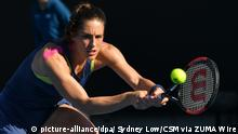 Australien - WTA-Tour - Australian Open - Andrea Petkovic (picture-alliance/dpa/ Sydney Low/CSM via ZUMA Wire)