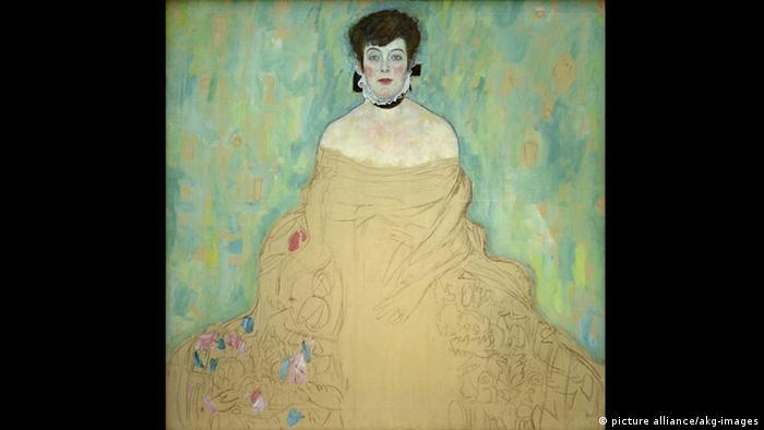 Amalie Zuckerkandl von Gustav Klimt