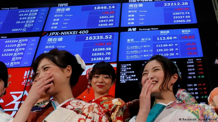 Tokyo: the latest stock market darling | Business| Economy and finance news  from a German perspective | DW | 16.01.2018