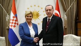 Hrvatska predsjednica u posjetu Erdoganu
